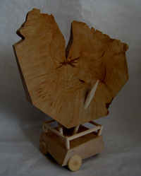 Contained and Under Control - 2014 - wood - 580mm x 500mm x 210mm