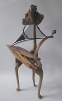 Call of the Wild - 2006 - wood,metal and nylon - 980mm x 330mm x 260mm