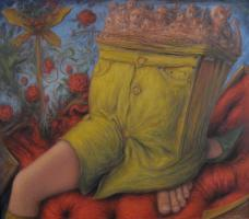 Beside yourself - 03 - oil on canvas - 1120mm x 985mm