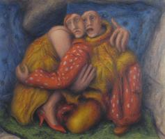 Living Room - 03 - oil 0n canvas - 1002mm x 860mm