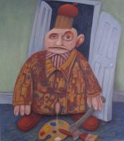 Pissed Off - 08 - oil on canvas - 840mm x 945mm