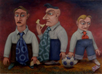 Food for Thought - 2012 - oil on canvas - 1195mm x 866mm